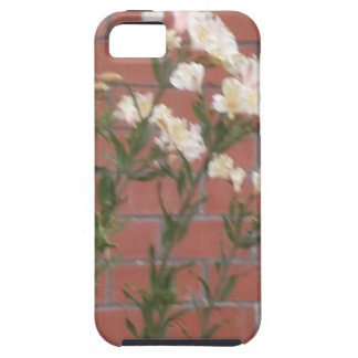 Flowers on Brick Case For The iPhone 5
