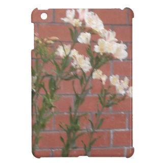 Flowers on Brick iPad Mini Cover