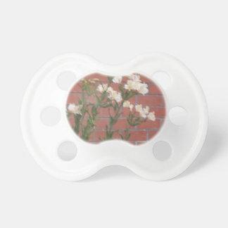 Flowers on Brick Pacifier