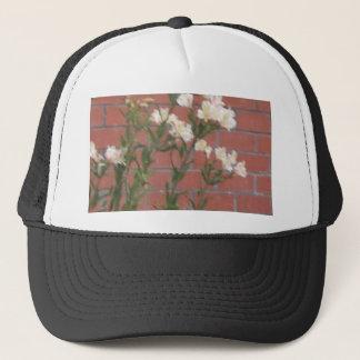 Flowers on Brick Trucker Hat