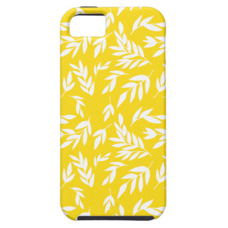 Flowers on honey yellow iPhone 5 case