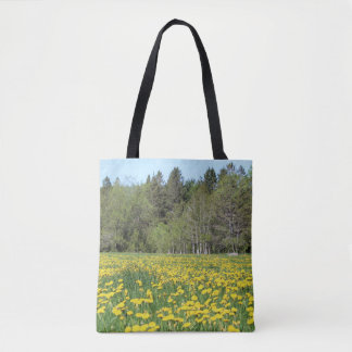 Flowers on New Hampshire Hand Bag