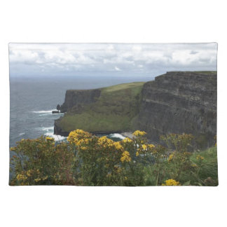 Flowers on the Cliffs of Moher Placemat