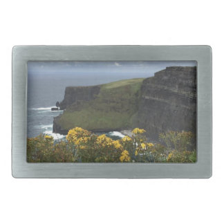 Flowers on the Cliffs of Moher Rectangular Belt Buckle