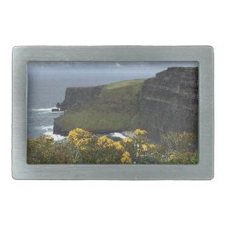 Flowers on the Cliffs of Moher Rectangular Belt Buckles