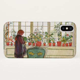Flowers on the Windowsill by Carl Larsson Case-Mate iPhone Case