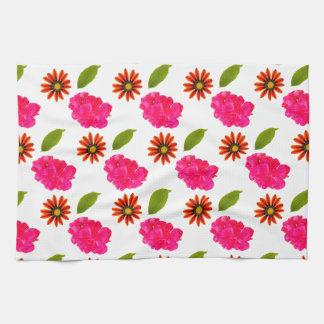 Flowers Pattern Kitchen Towel
