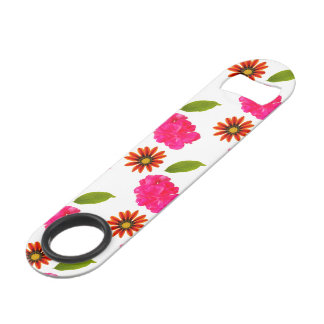 Flowers Pattern Speed Bottle Opener