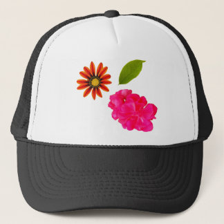 Flowers Pattern Trucker Hat