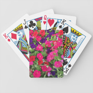 Flowers Photo Bicycle Playing Cards