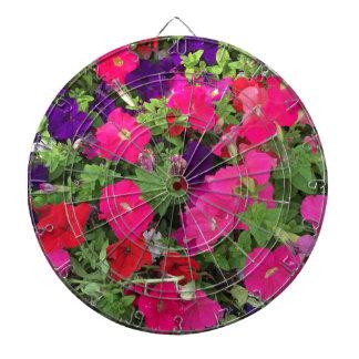 Flowers Photo Dartboard