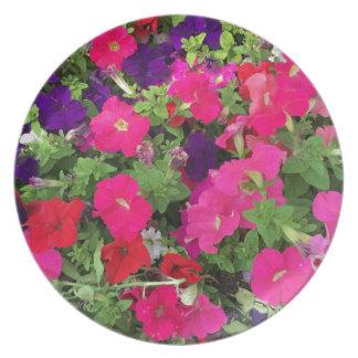 Flowers Photo Dinner Plate