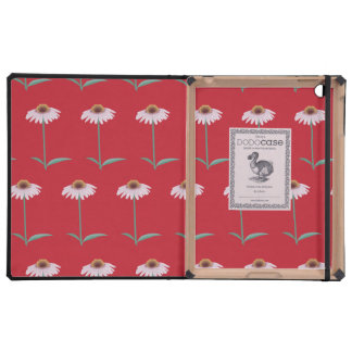 flowers red cases for iPad