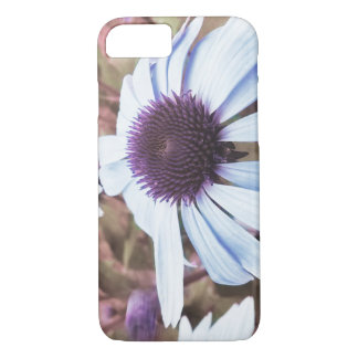 flowers retro violet iPhone 8/7 case