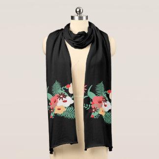 flowers scarf
