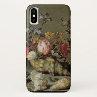 Flowers, Shells and Insects Balthasar van der Ast iPhone X Case