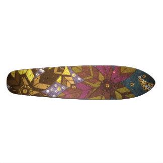 Flowers Skate Board Deck