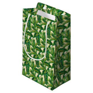flowers small gift bag