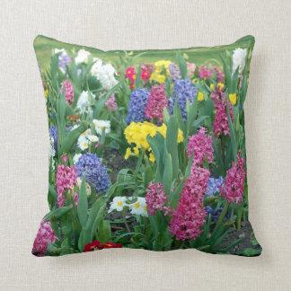 Flowers: Spring Flowers Throw Pillow
