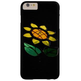 Flowers Stained Glass Small Monogram Iphone Case