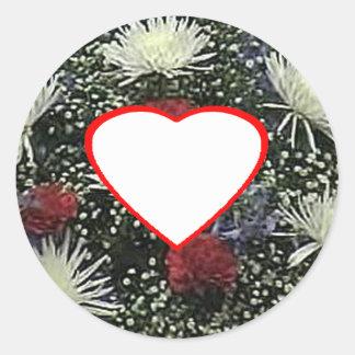 Flowers - Starburst Vero Beach 2010 The MUSEUM Zaz Stickers