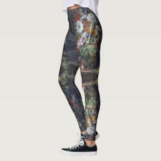 Flowers Still Life All Over Print Leggings