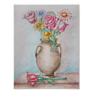 Flowers Still Life Posters