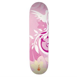 Flowers & Swirls Skateboards
