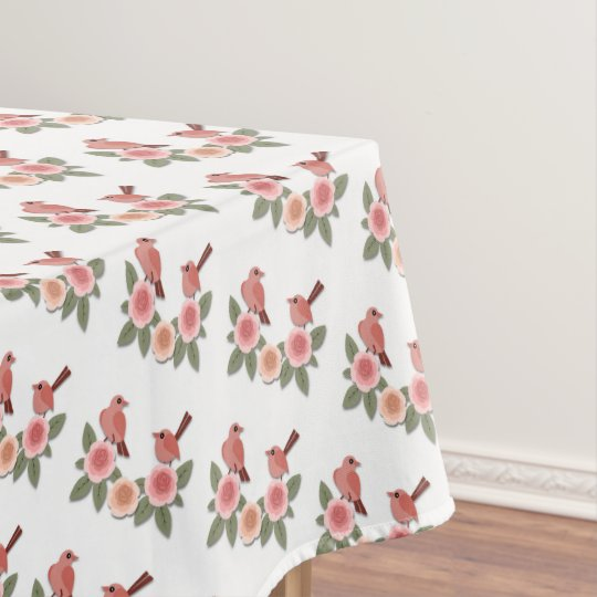 Flowers Tablecloth
