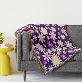 Flowers♥ Throw Blanket
