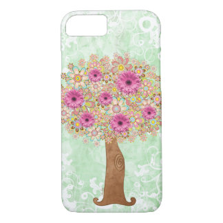 Flowers Tree iPhone 7 Case
