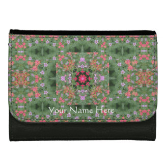 Flowers under the Staircase Mandala Wallet