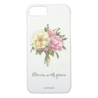 Flowers, watercolor, phone case