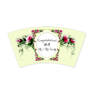 FLOWERS WEDDING 2  Paper Cup, 9 oz Paper Cup