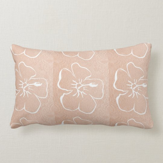 Flowers :   White n Gold Lumbar Pillow