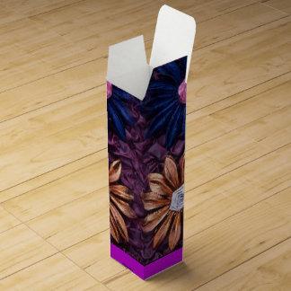 Flowers Wine Box