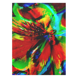 Flowers with color kick 1 tablecloth
