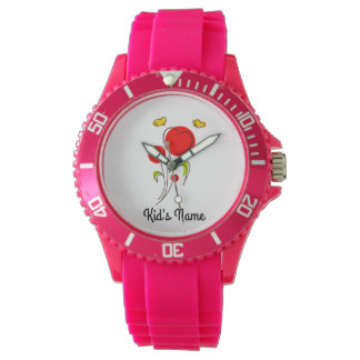 Flowers with Hearts Watch