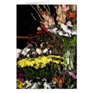 Flowerstand 01 card