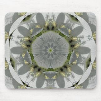 Flowery Bee Mousepads