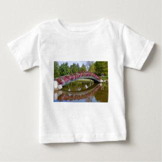 Flowery bridge at Bagnoles-de-l'Orne Baby T-Shirt