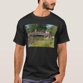 Flowery bridge at Bagnoles-de-l'Orne T-Shirt