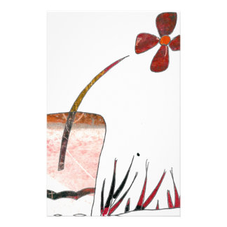 Flowery Delight Stationery Paper