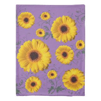 Flowery duvet cover