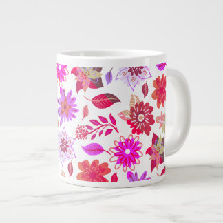 Flowery mug Coffee of the Morning in Primavera