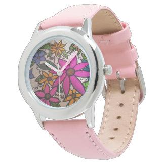 Flowery watch