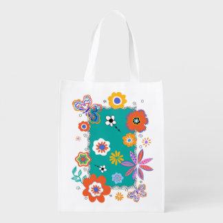 'Flowies' Shopping Bag