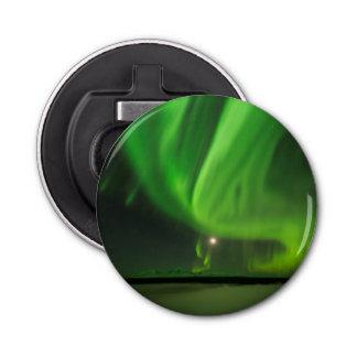 Flowing Aurora Button Bottle Opener
