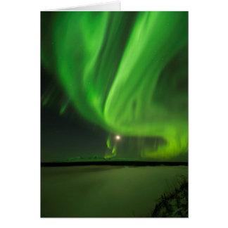 Flowing Aurora Card