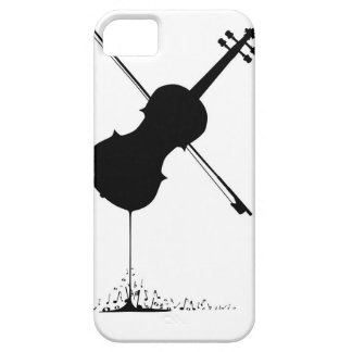 Flowing Fiddle Music iPhone 5 Cover